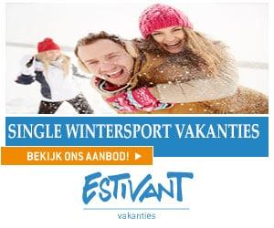 Estivant wintersport voor singles