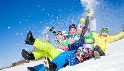wintersport met singles